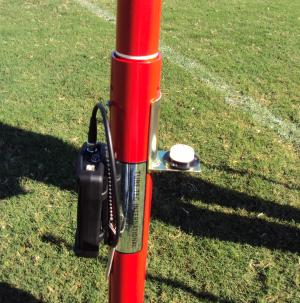 Clegg Impact Tester / Clegg Decelerometer shown with Turf-Tec Level
