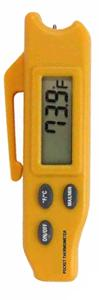 Turf-Tec Digital Pocket Thermometer. Check temperature in thatch, mat or root zone. Avoid scald and loss of turf when conditions are favorable for high moisture and temperature.