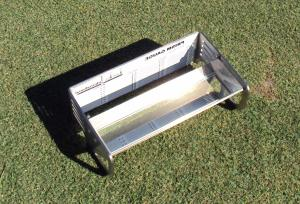"With the Turf-Tec Height of Cut Prism the ""quality"" of cut may also be inspected by comparing the turf over the viewing plane of the prism. check gauge"