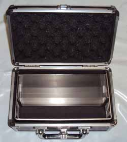 Turf-Tec International Grass Height Prism Gauge in hard case