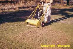 Turf-Tec International was started by Tom Mascaro in 1976. Tom Mascaro was best known as the inventor of the the Verti-Cut in 1955