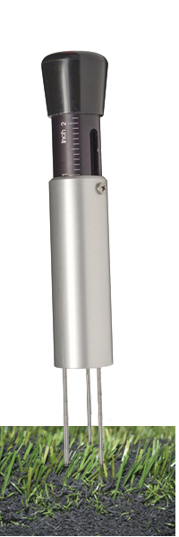 Turf-Tec Professional Model Infill Depth Gauge - Aluminum and Stainless Steel construction