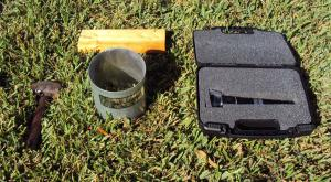 You can also use an optional Turf-Tec Macroscope to examine the insects once they float out of the grass and thatch with the Turf-Tec Insect Flotation Sampler