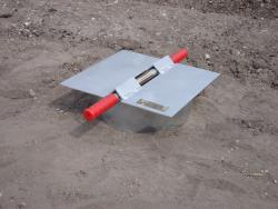 The Turf-Tec Heavy Duty Infiltration Rings IN7-W Shown with optional IN6-W driving plate