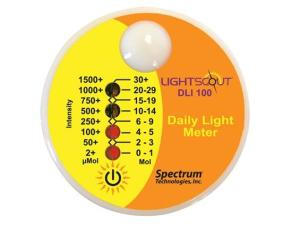 Daylight Indicator - Light Meter Face