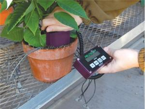 The Field Scout Handheld Digital Moisture Sensor is also excellent for testing plants, containers, liners, and nursery pots of all types