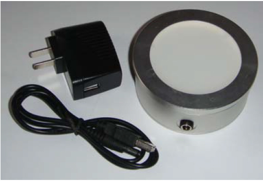 Macroscope Light Table with USB Cable and Wall Adapter
