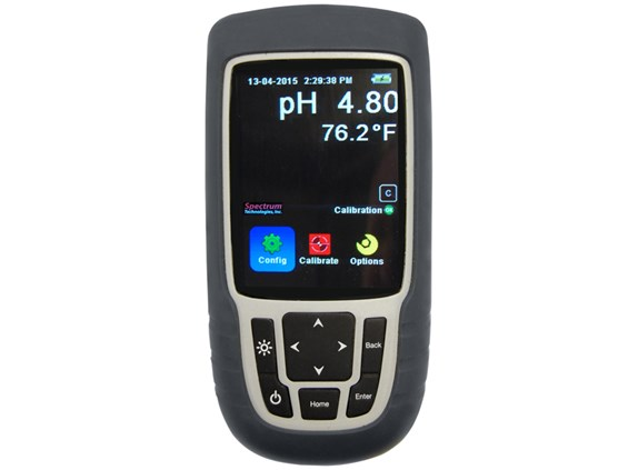 The new FieldScout pH 400 Meter has a modern, intuitive, and user friendly interface that allows users to quickly access the meters advanced features and settings