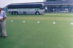 University of Florida, Gainesville, FL.  Turfgrass Tour with the Florida Turfgrass Association.  Field plots.