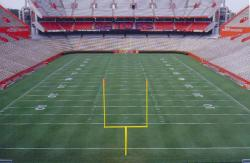 University of Florida, Florida Field, Gainesville, FL.  John Pridgen, Sports Turf Manager.  419 Bermudagrass.