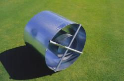 The need for a ASTM standard infiltration ring prompted me to invent the new Turf-Tec 12 inch and 24 inch infiltration rings.  These ate used by scientists and soil engineers to determine infiltration rates for large scale projects.