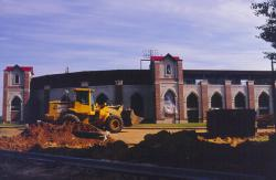 This is FSU's new baseball stadium that was just being completed.
