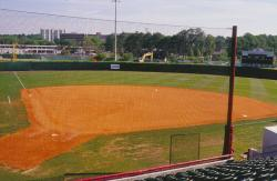 This is the new softball stadium and field at Florida State University, Tallahassee, FL.