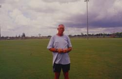 This is the brand new Sportsplex in Coral Springs, FL.  It is a shared use facilities with the city and county school board for their new high school.  Pictured is Gary Eckout, Sports Turf Manager for this facility