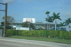2007 also brought the Superbowl to Dolphin Stadium, I went down and visited the field about a week before the game.