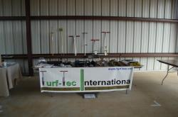 Turf-Tec International also had a booth at the University of Florida,  West Florida Research and Education Center Field Day in Jay, FL.