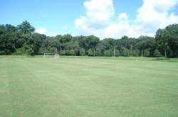 This is one of the Multipurpose Bermudagrass fields at Jacksonville University we toured at the NFSTMA Meeting.