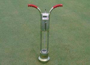 Turf-Tec Infiltrometer gives infiltration reading directly on the turfgrass area and readings are in inches per hour.