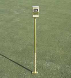 "Turf-Tec pH Meter. Test soil pH in the mat, thatch and above and below the root zone. pH can be checked, 0"" to 4"" inch level right on the turfgrass area."